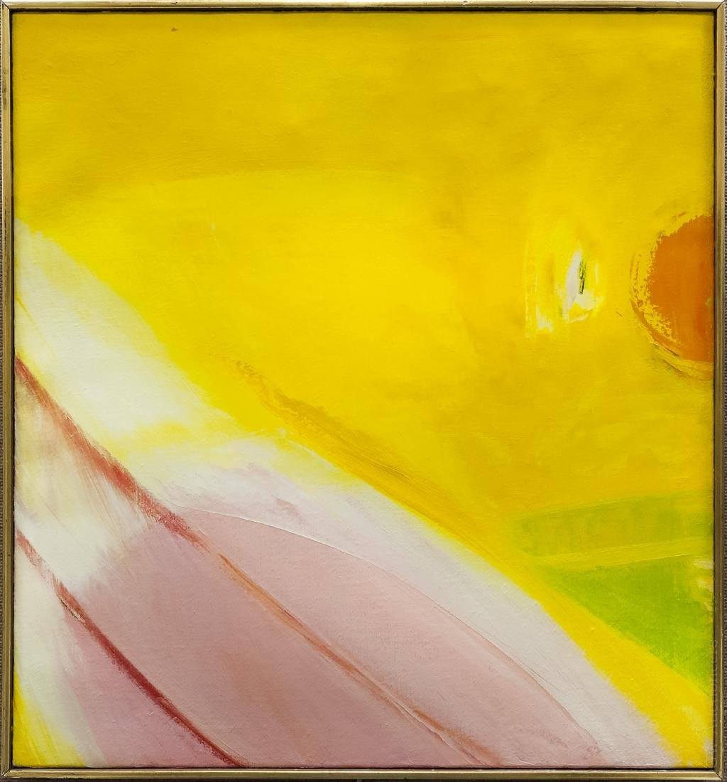 William Ivey Abstract Oil on Canvas.