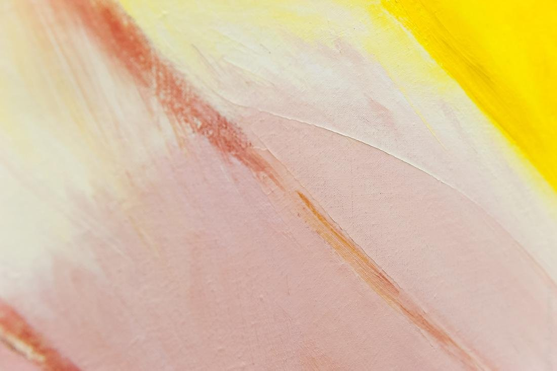 William Ivey Abstract Oil on Canvas. - 4