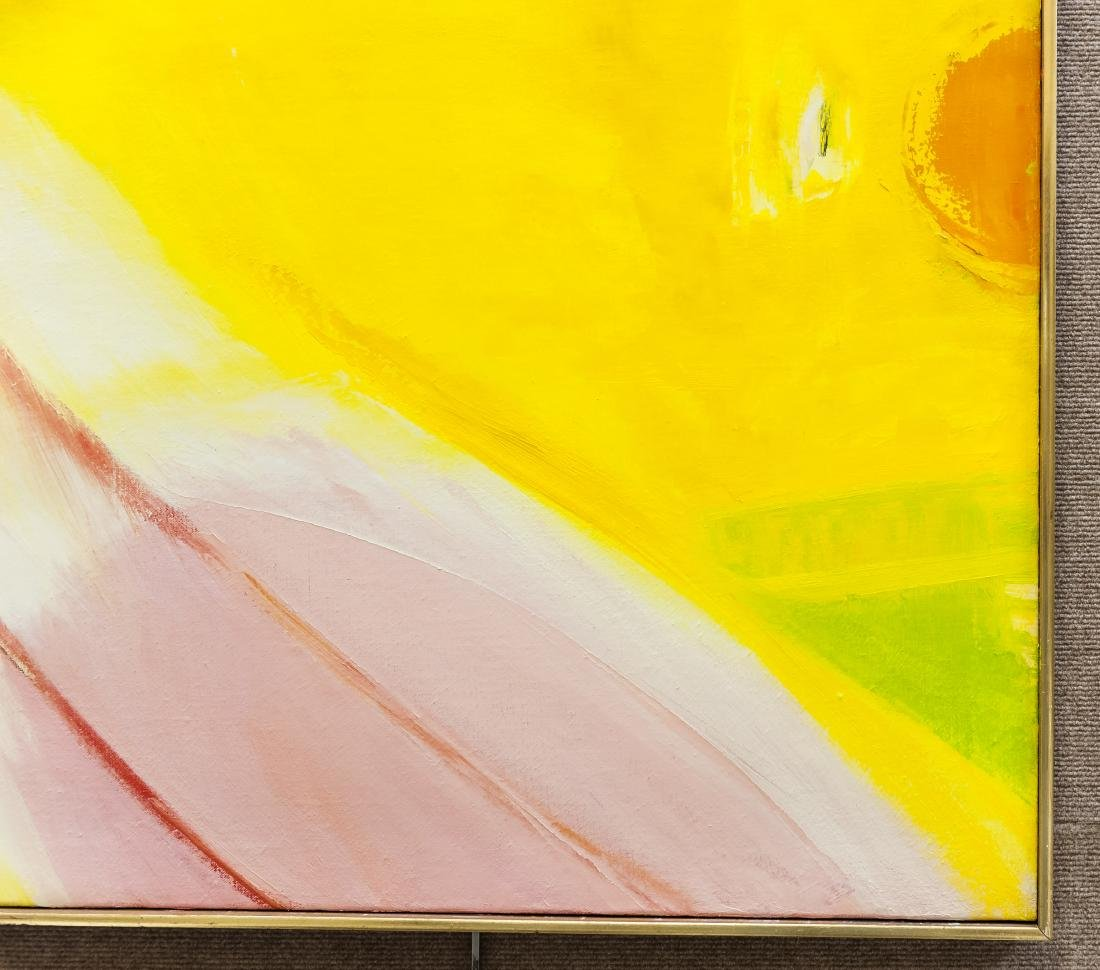 William Ivey Abstract Oil on Canvas. - 7