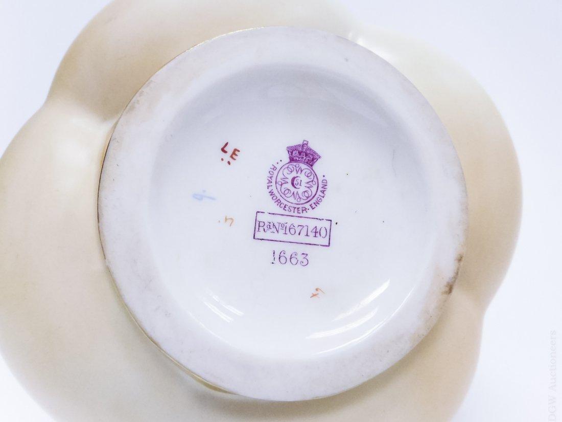 (3) 19th C. Royal Worcester Porcelain Vases. - 2