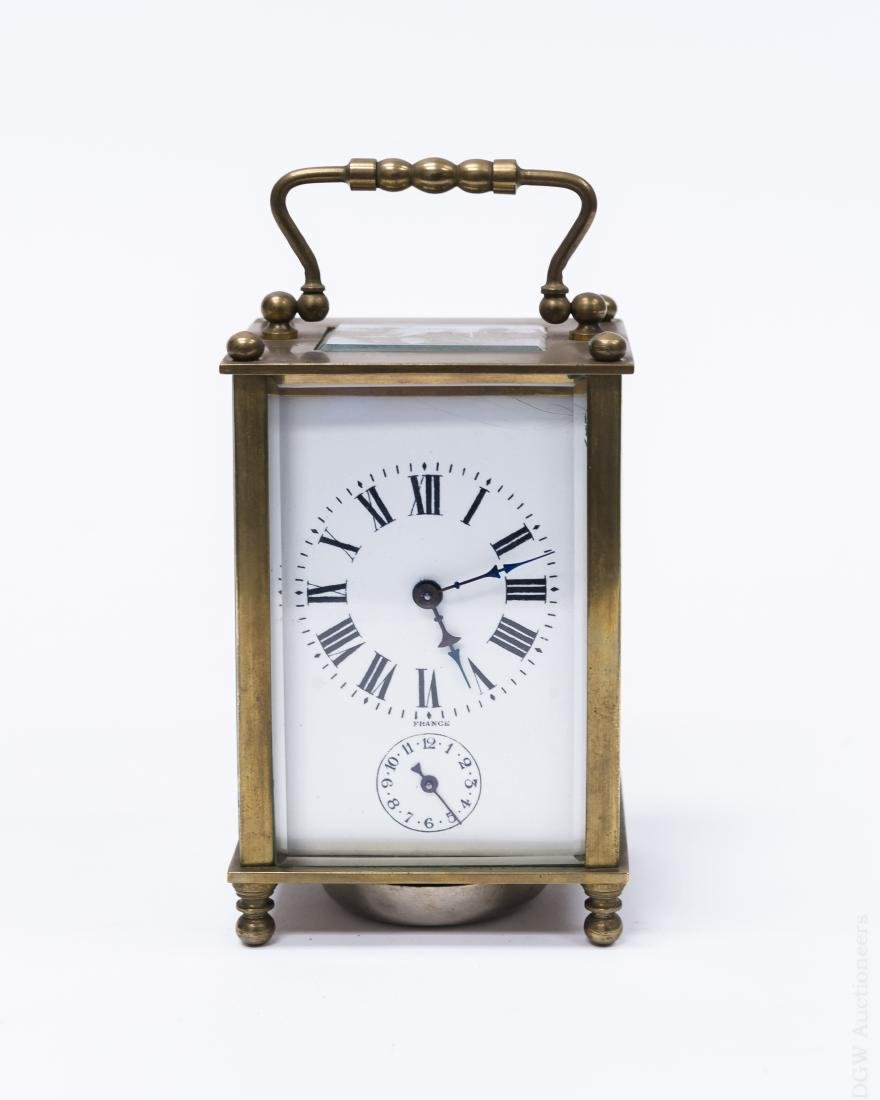 Couaillet Freres French Carriage Clock.