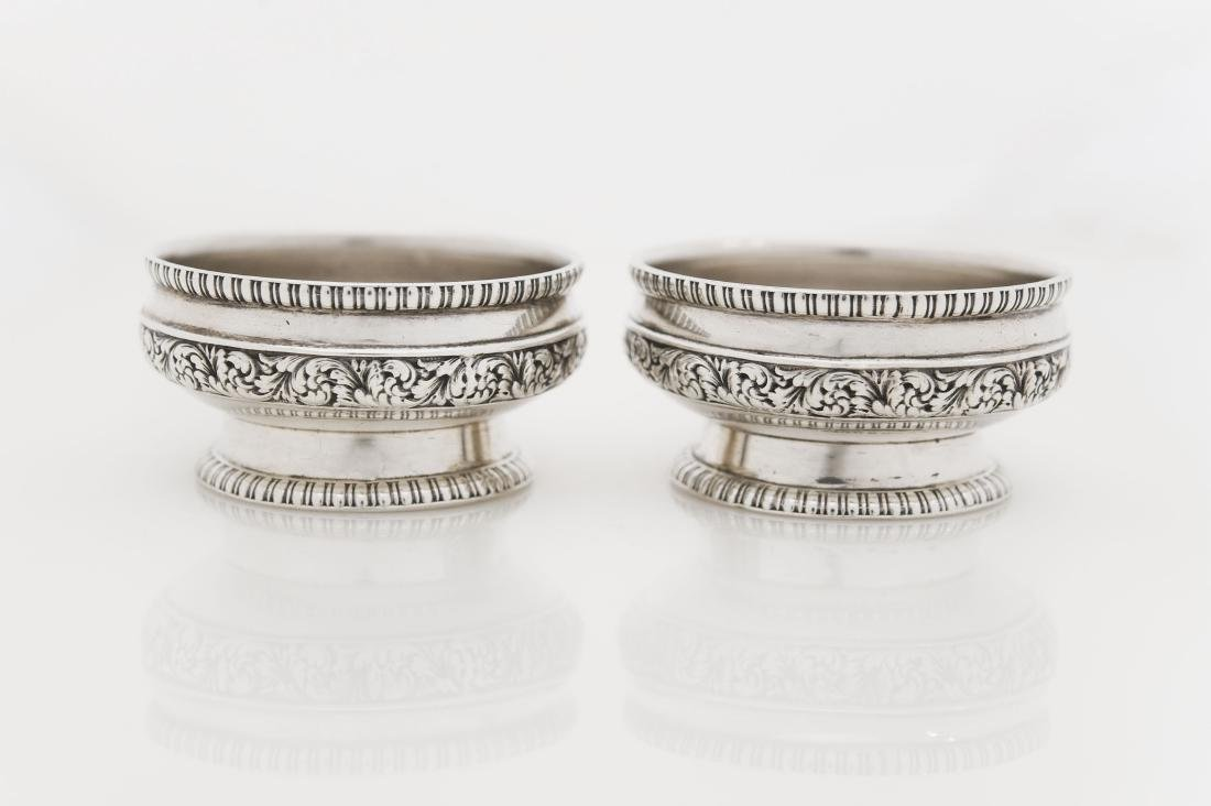 (2) Tiffany & Co. Sterling Silver Nut Dishes.