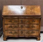 Continental Baroque Style Secretary Commode.