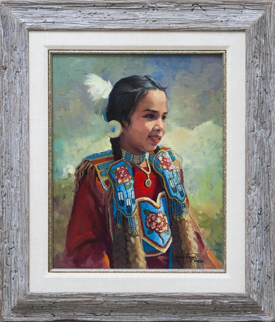Karen Thayer Oil on Canvas.