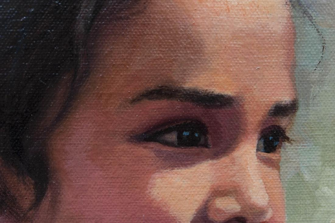 Karen Thayer Oil on Canvas. - 3