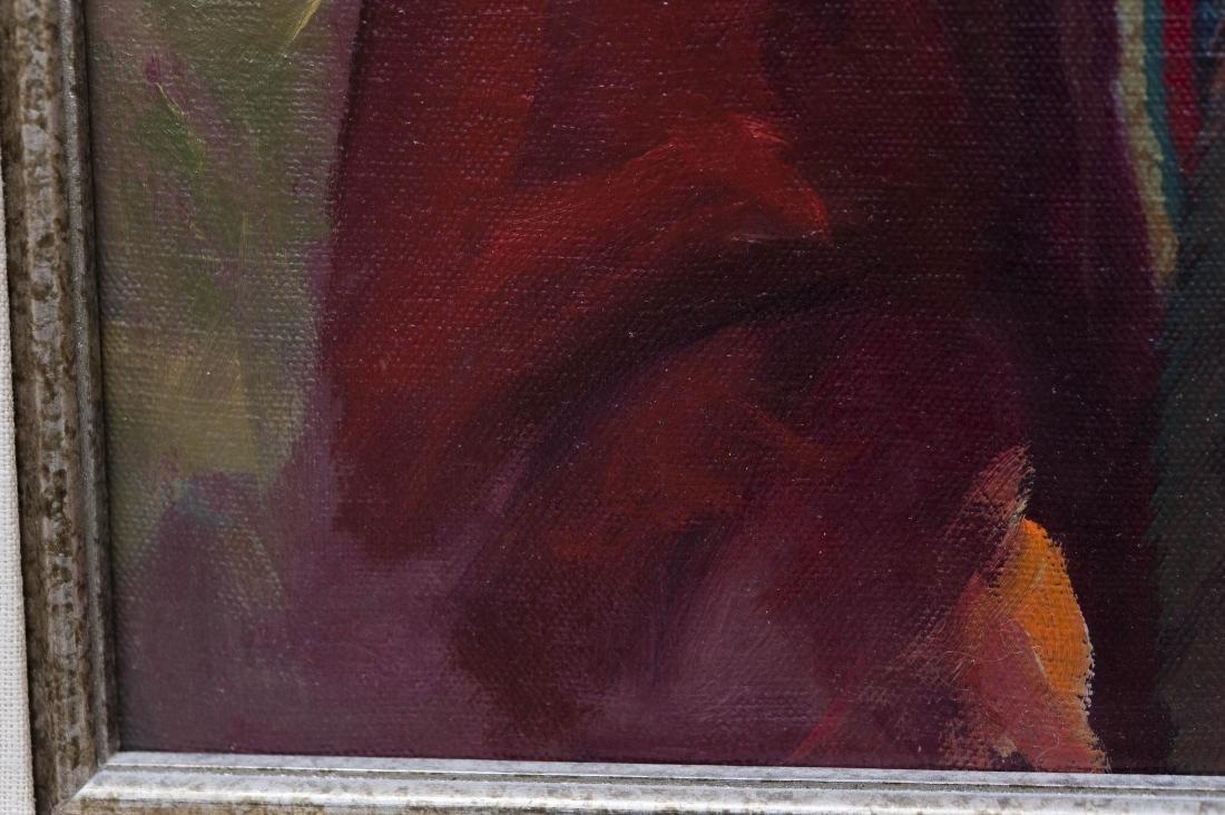 Karen Thayer Oil on Canvas. - 4