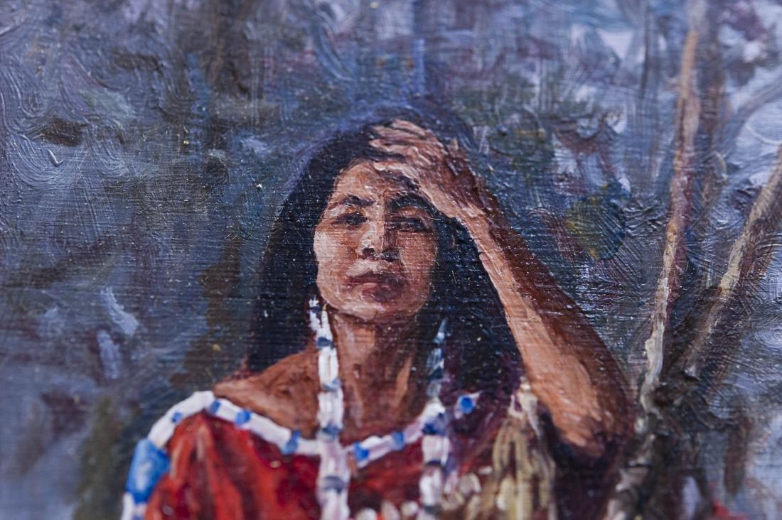 Hubert Wackermann Oil on Canvas. - 3