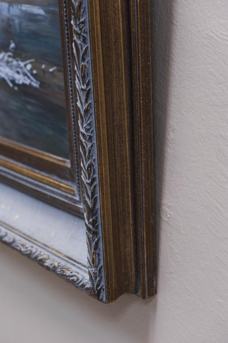 Hubert Wackermann Oil on Canvas. - 7