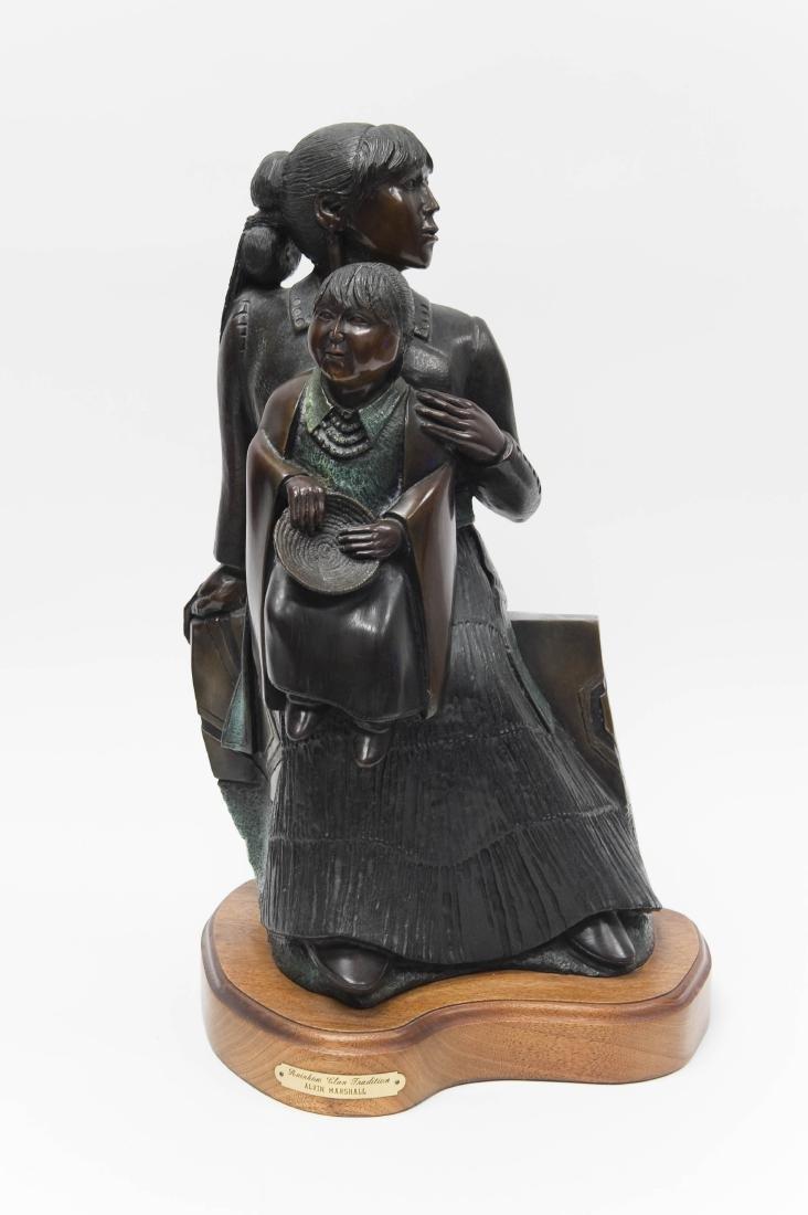 Alvin Marshall Bronze, Rainbow Clan Tradition.