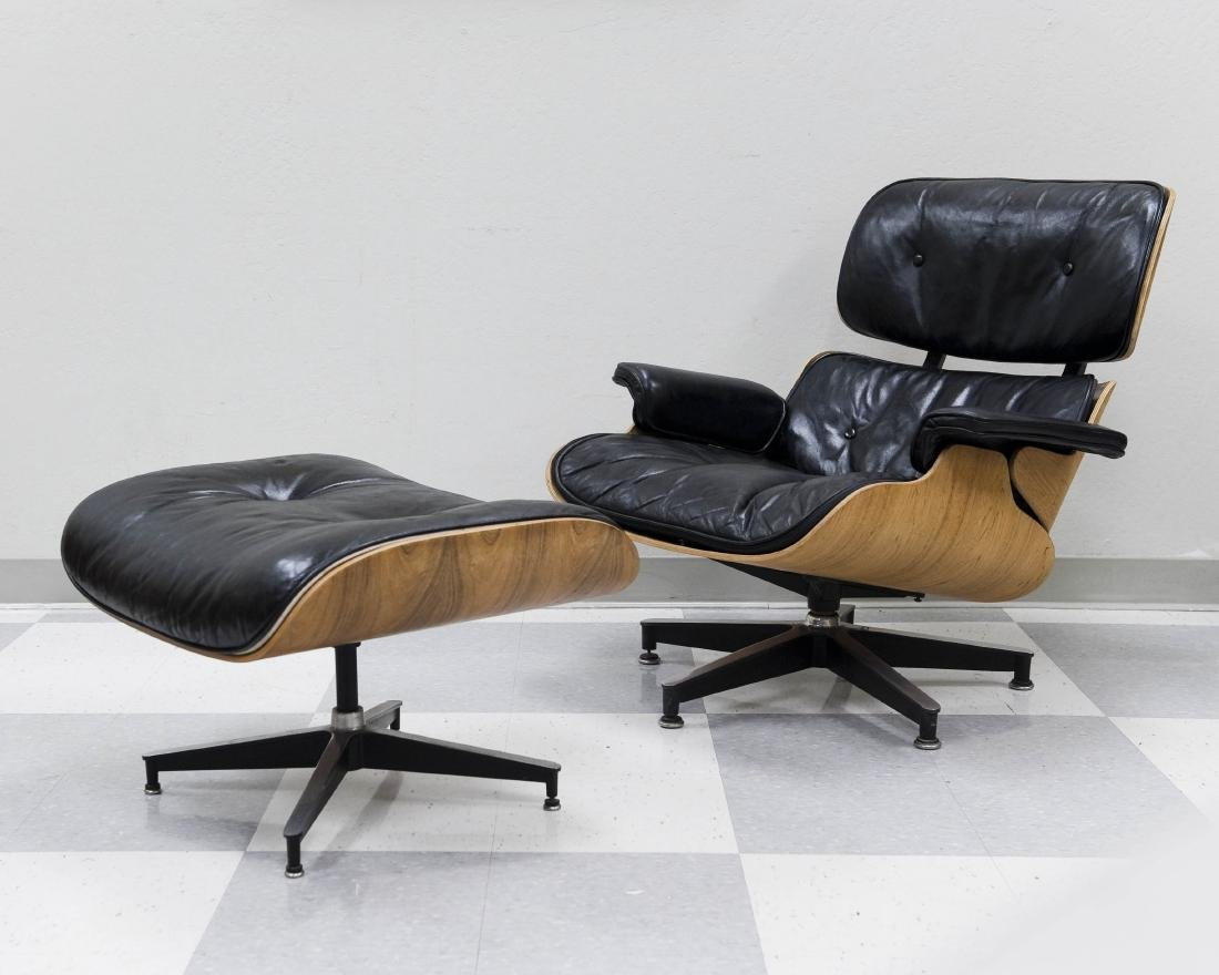 Herman Miller Lounge Chair and Ottoman.