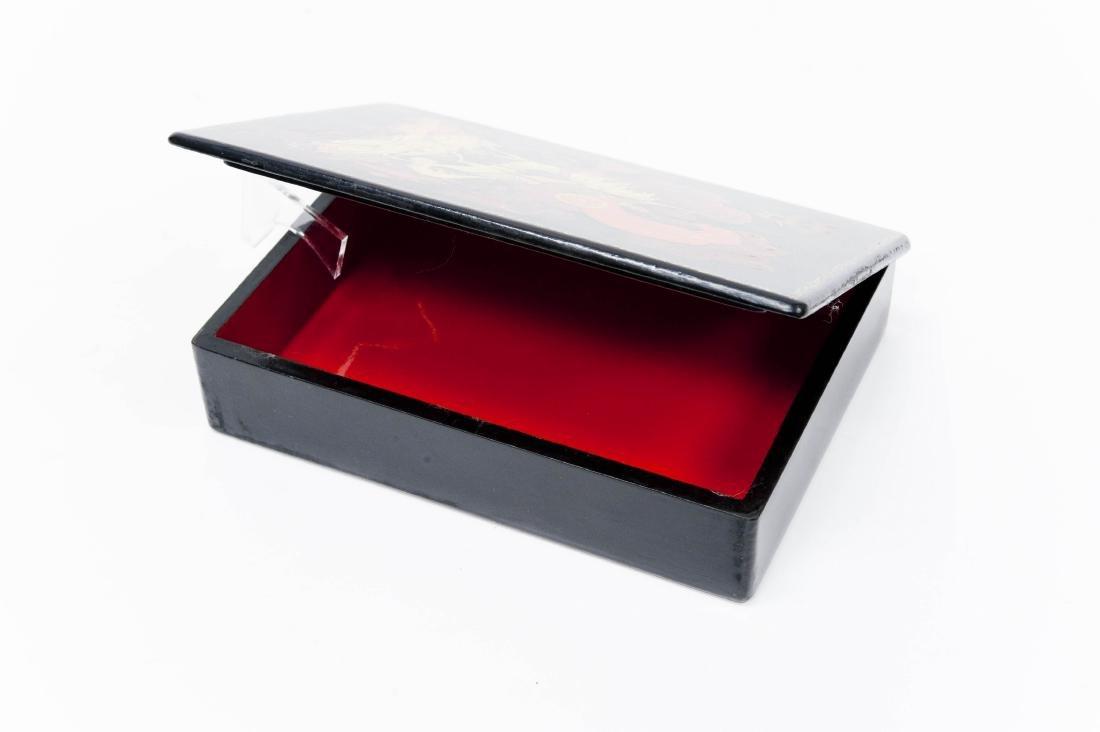 Vetrov Kholui Russian Lacquer Box. - 2