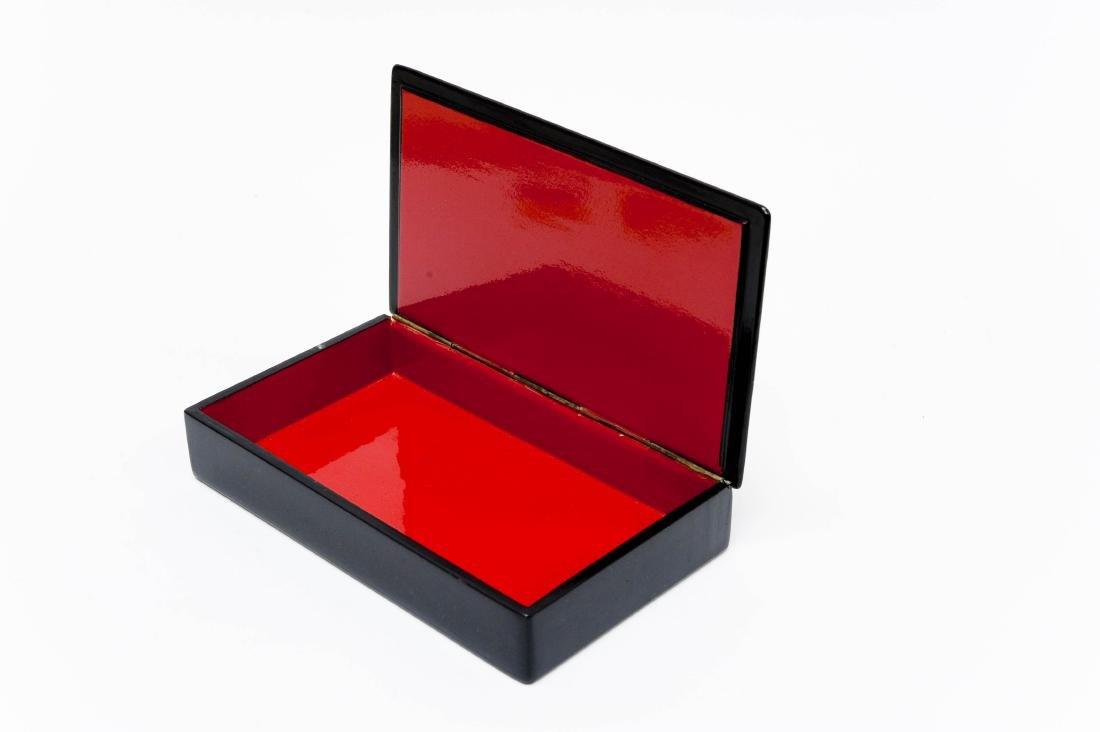 Lubomudrova Mstera Russian Lacquer Box. - 2