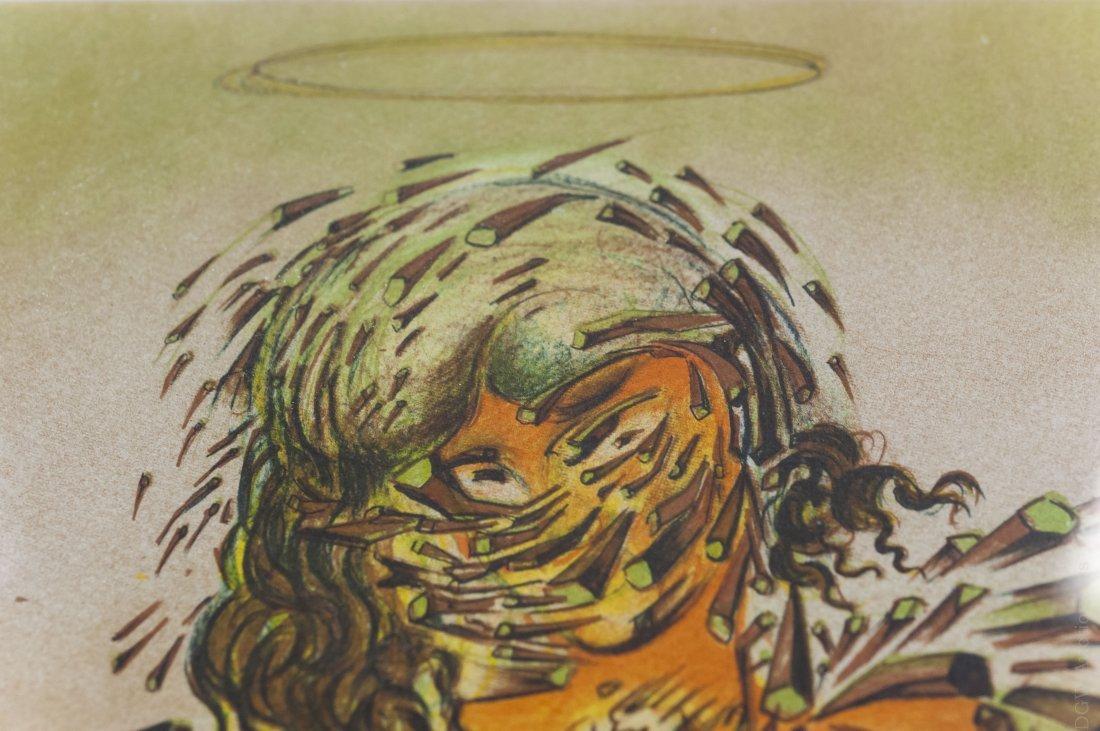 Salvador Dali Lithograph, Triumphant Madonna. - 4
