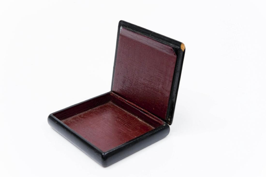 World War II Palekh Russian Lacquer Box. - 4