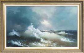 Eugene Garin Oil on Canvas.