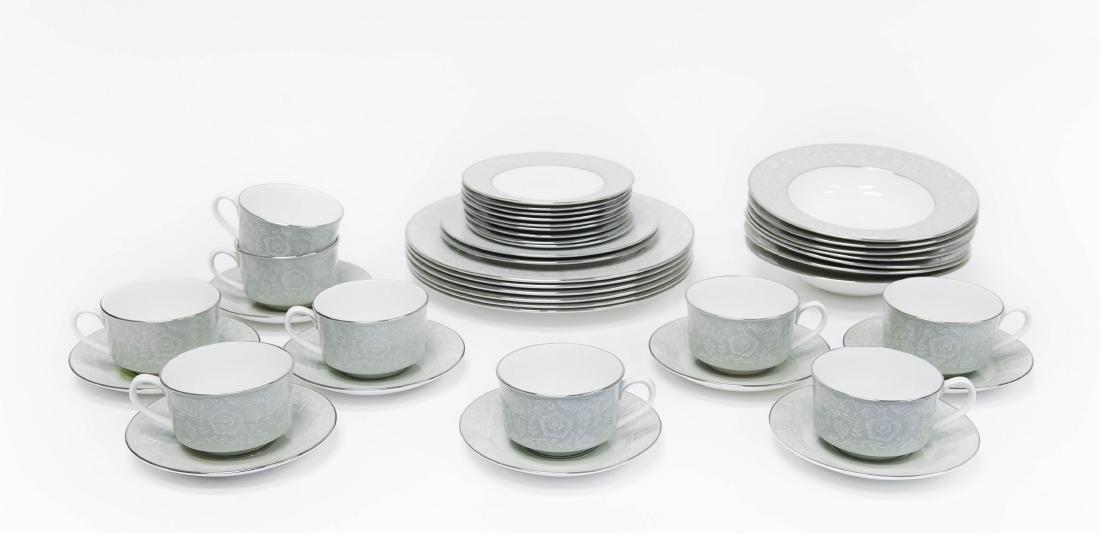 """Royal Worcester """"Mirage"""" Porcelain Dinner Service."""
