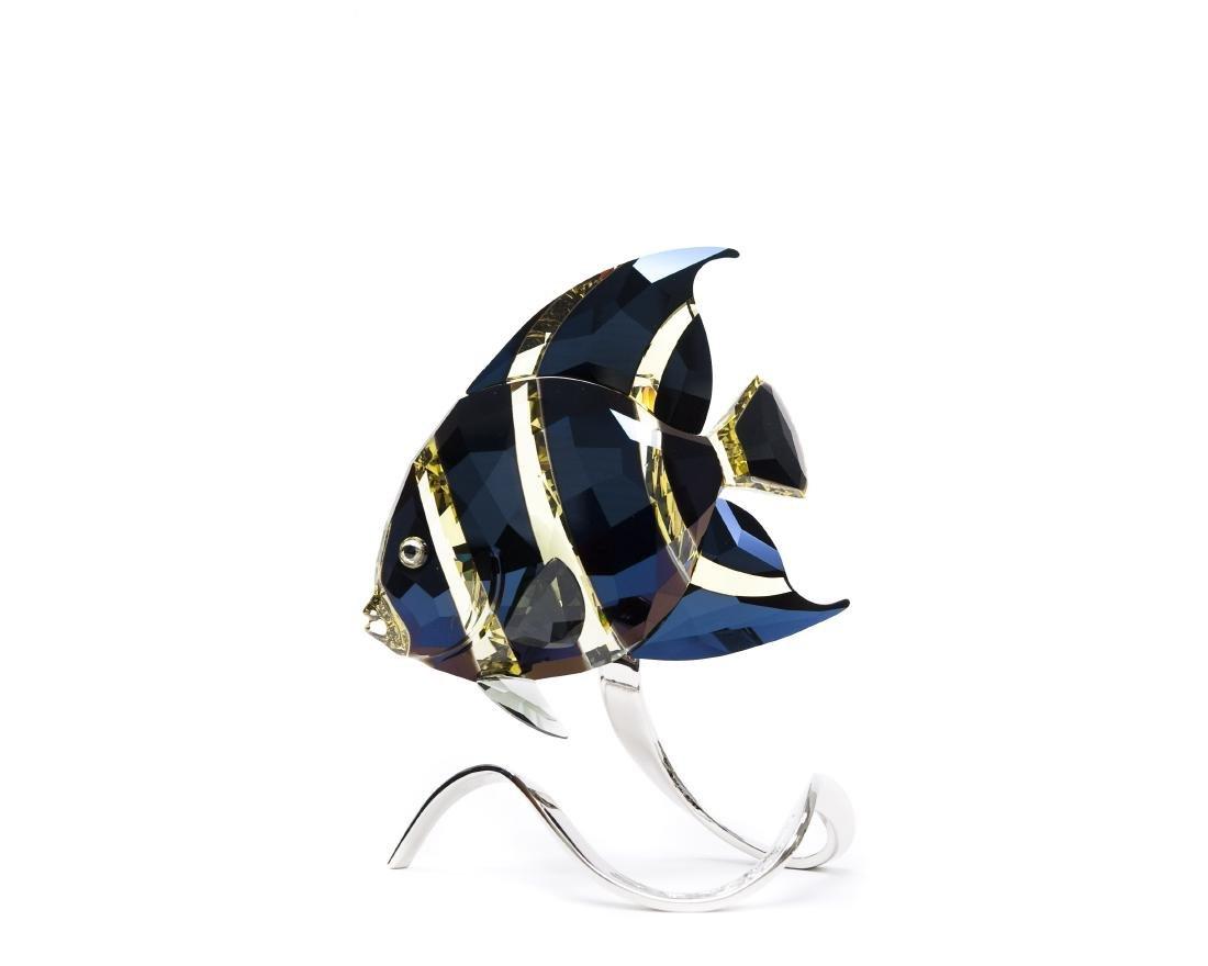Swarovski Crystal French Angel Fish.