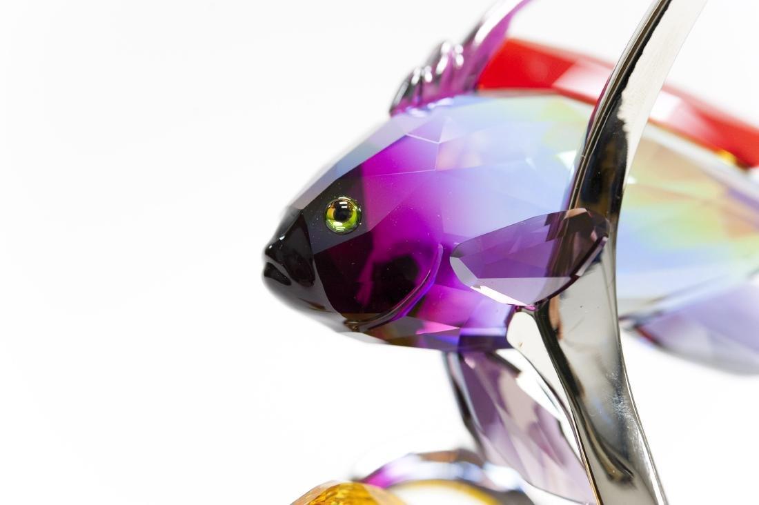 Swarovski Crystal Sea Goldies Topaz Figure. - 3
