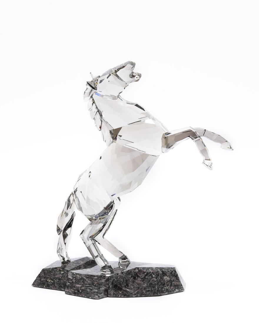 Swarovski Crystal Stallion Figure.