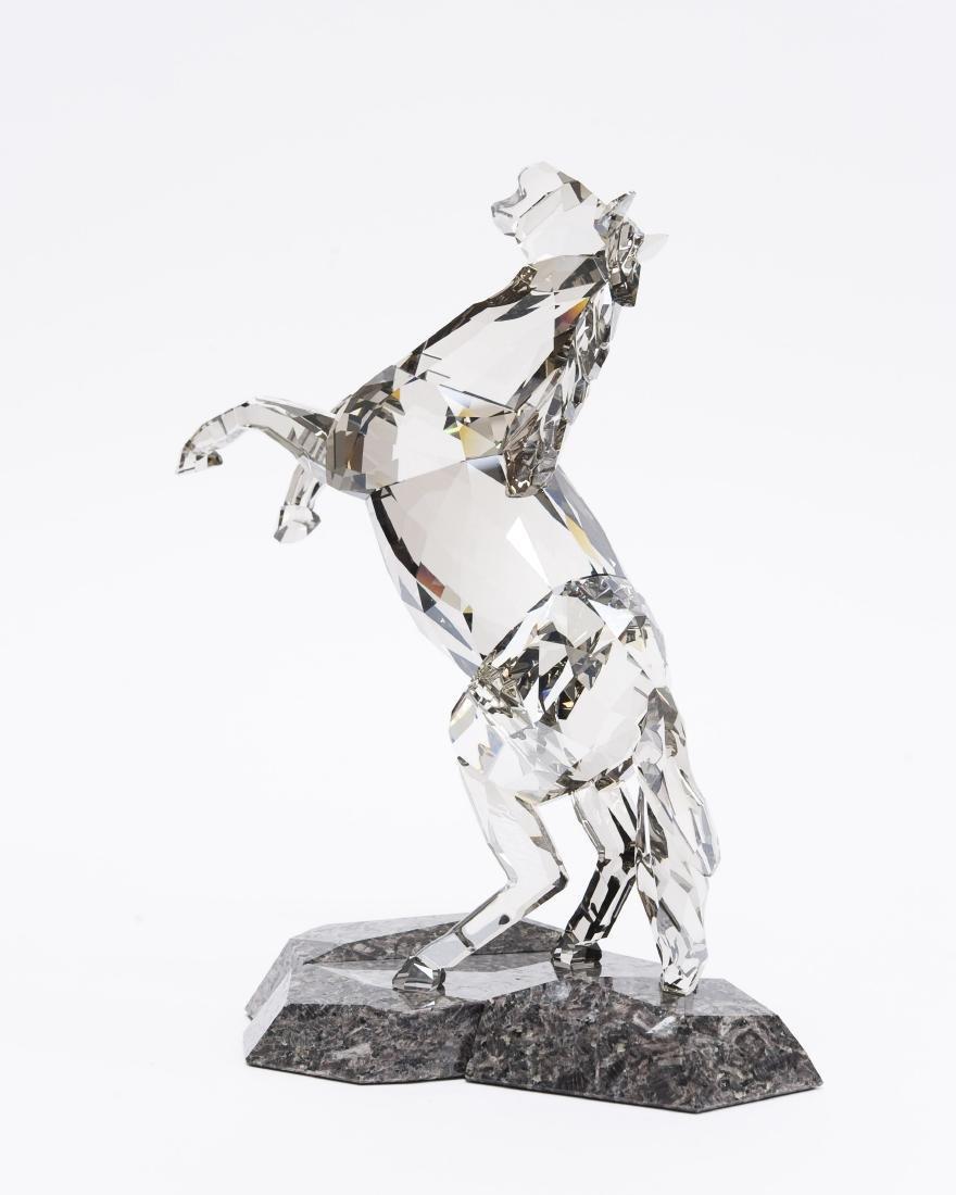 Swarovski Crystal Stallion Figure. - 2