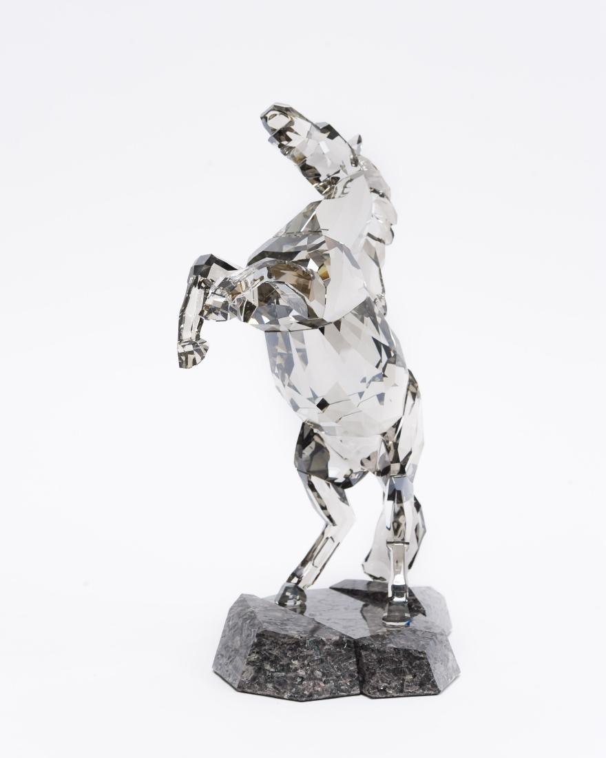 Swarovski Crystal Stallion Figure. - 3