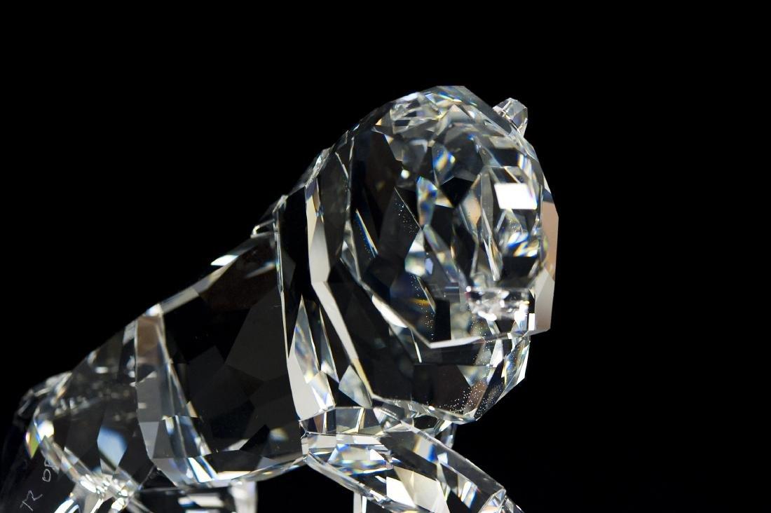 Swarovski Crystal Lion Spirit of Nobility Figure. - 3