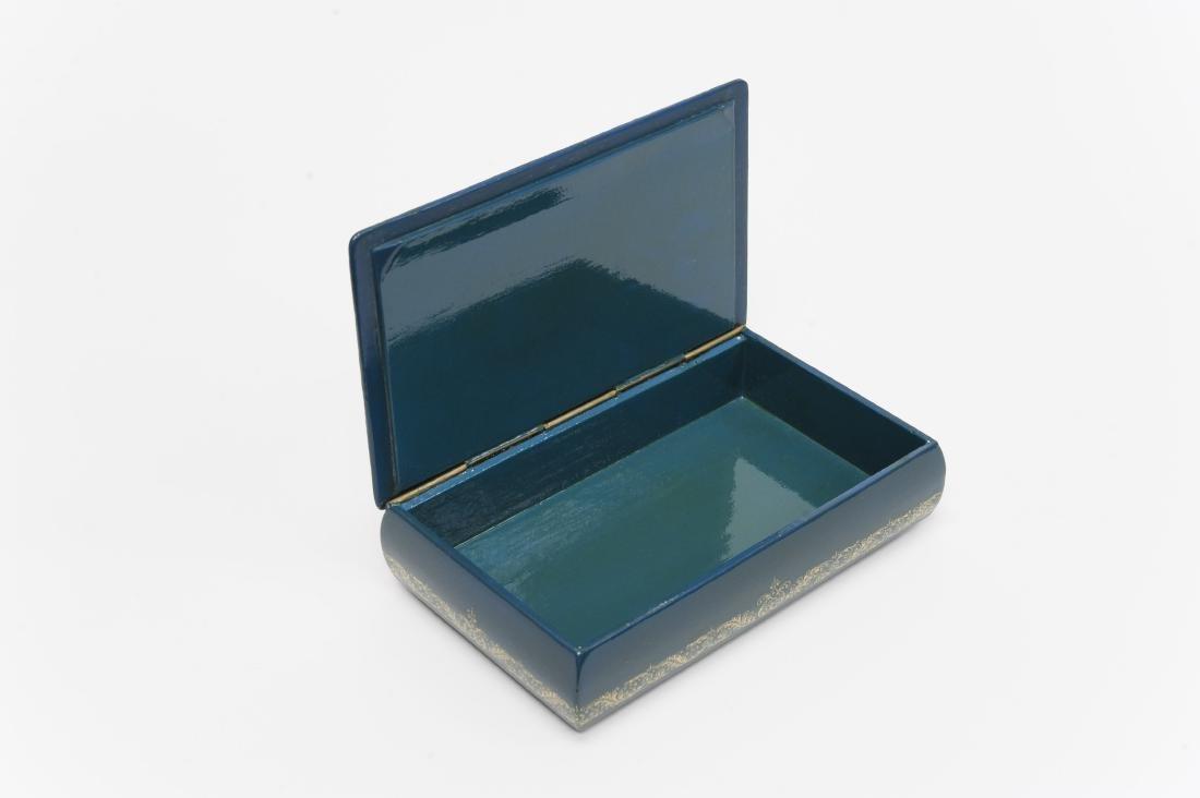 Bogdanov Palekh Russian Lacquer Box. - 3