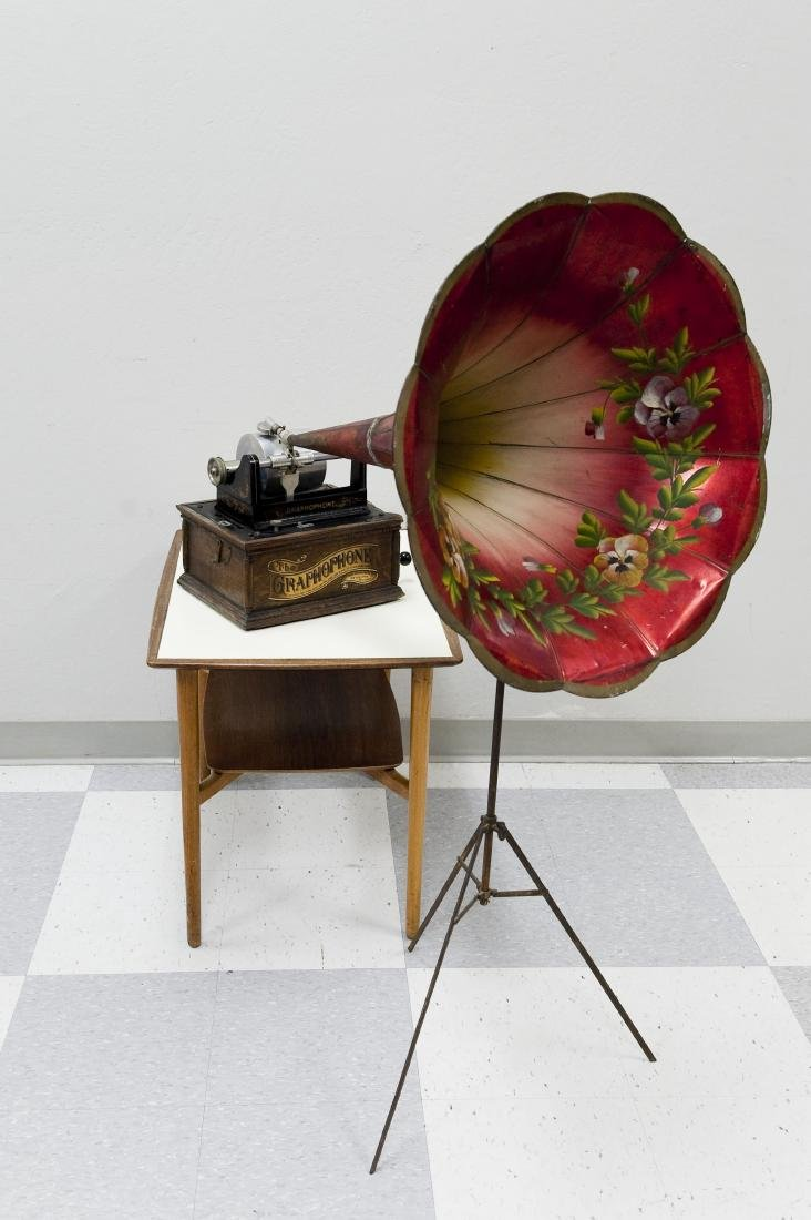 American Phonograph Co. Type AG Graphophone.