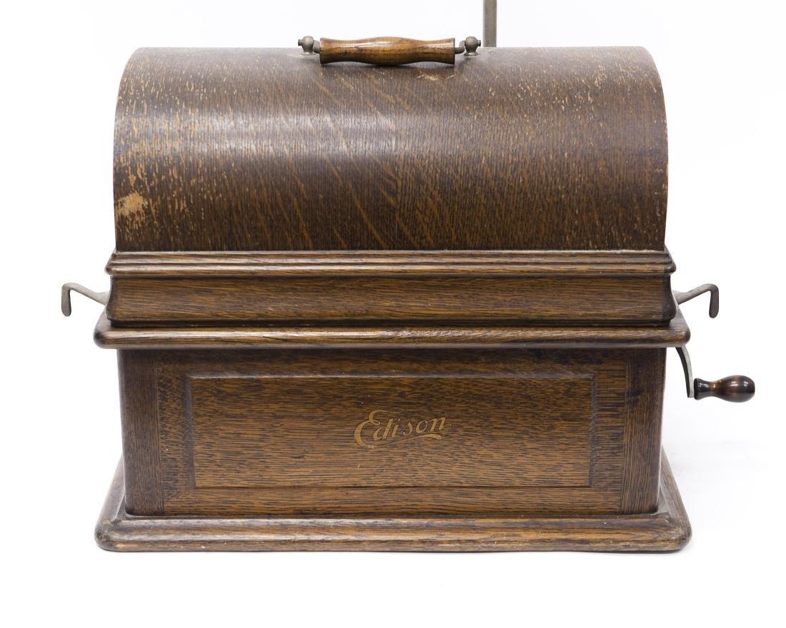 Edison Triumph Phonograph, Model E. - 9