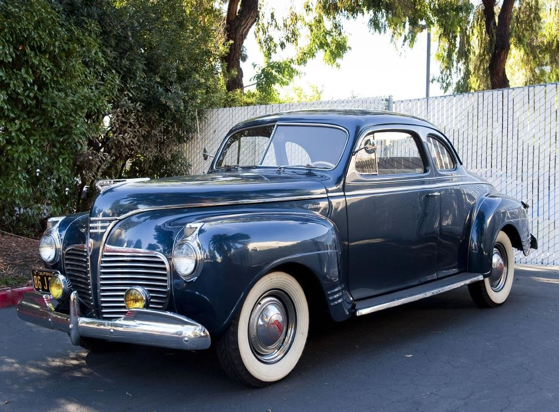 1941 Plymouth P12 Special DeLuxe Two Door Coupe.