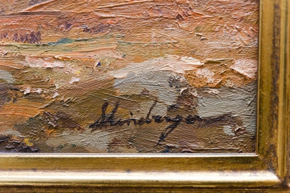 Tim Shinabarger Oil on Linen. - 2