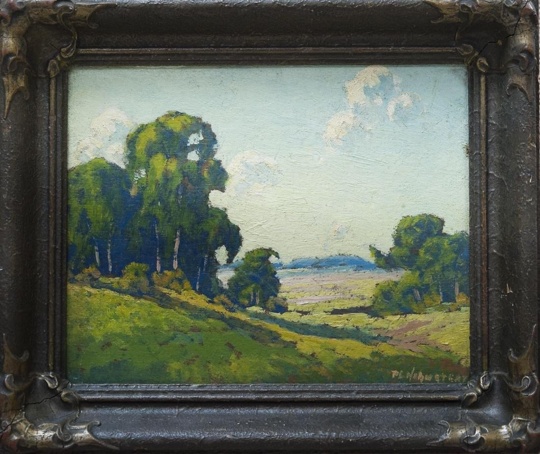 Oil on Board, signed P.L. Hohnstead.