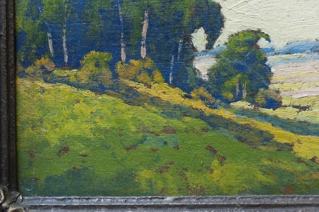 Oil on Board, signed P.L. Hohnstead. - 3