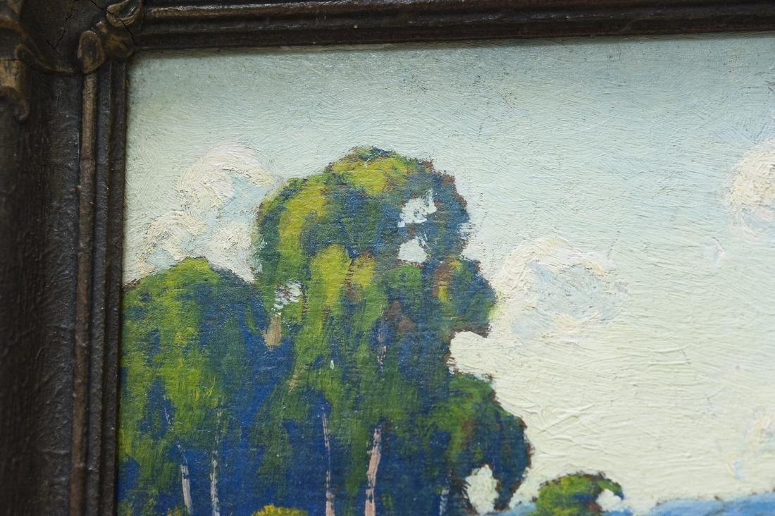 Oil on Board, signed P.L. Hohnstead. - 4