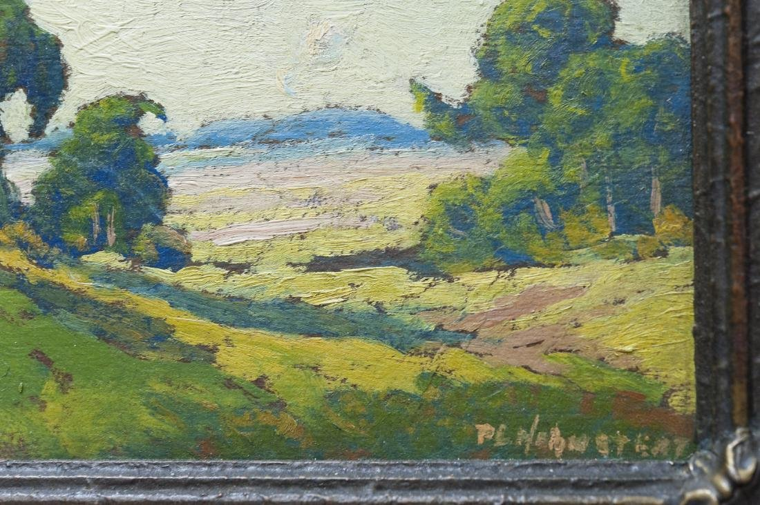 Oil on Board, signed P.L. Hohnstead. - 6