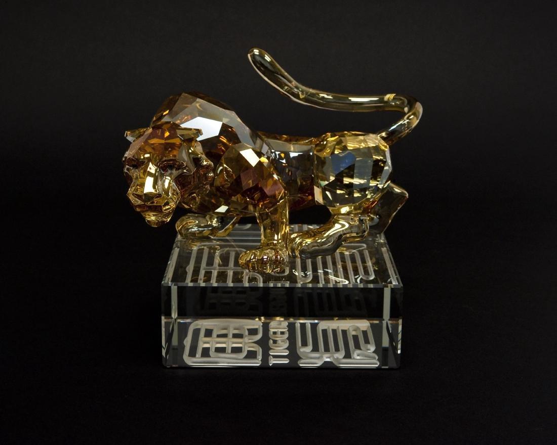 Swarovski Crystal Tiger Figure.