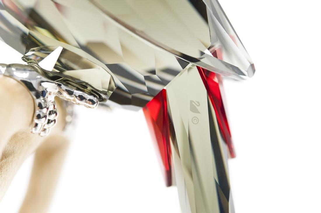Swarovski Crystal Toucan, Black Diamond Figure. - 3
