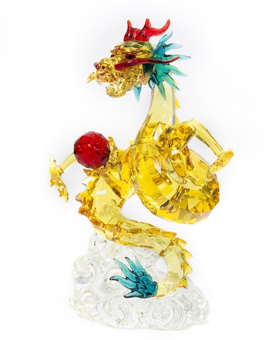 Swarovski Crystal Tutelary Spirit, Auspicious Dragon.