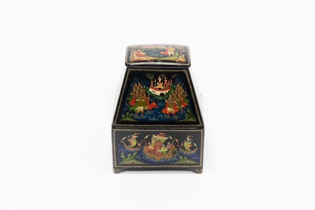Titov Palekh Russian Lacquer Box.