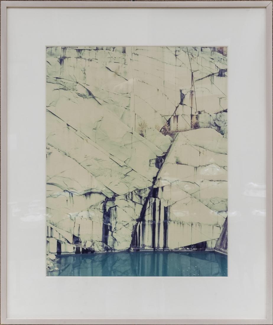 Edward Burtynsky Signed Chromogenic  Color Print.
