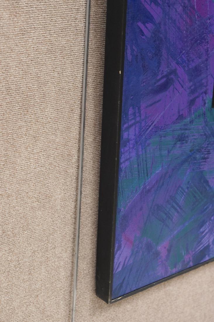 "Ned Evans Oil on Canvas, ""Catwalk"". - 4"