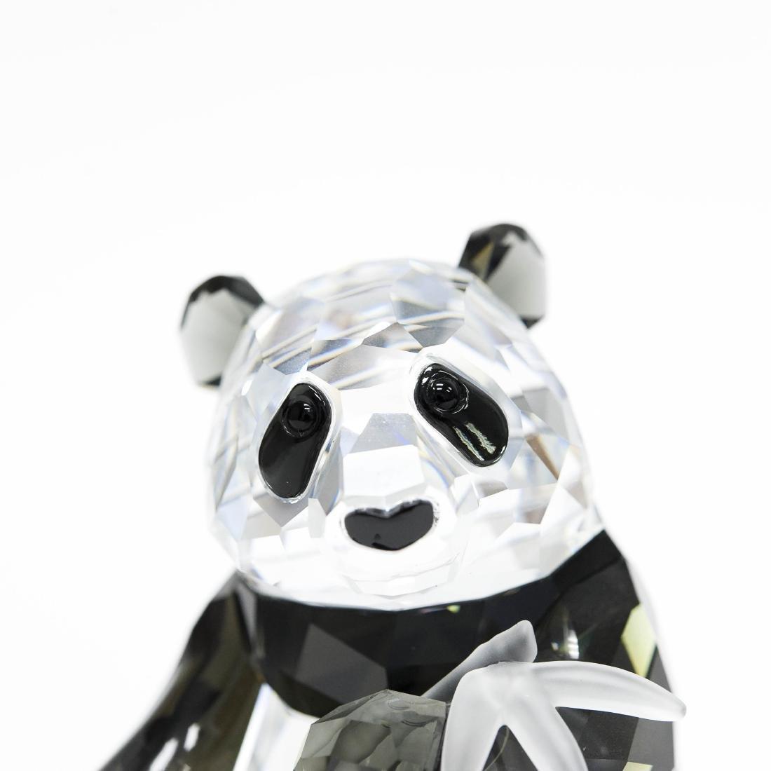 Swarovski Crystal Society Endangered Wildlife Panda - 3