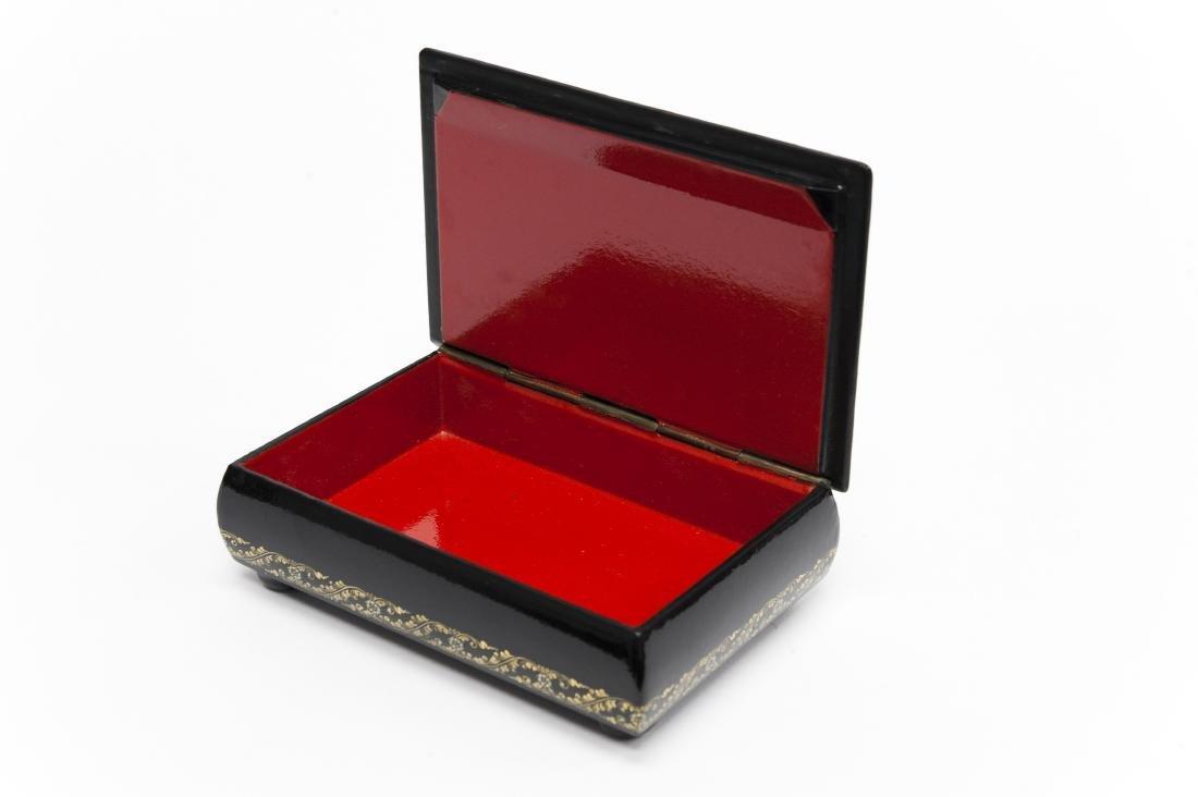 Babanov Palekh Russian Lacquer Box. - 2
