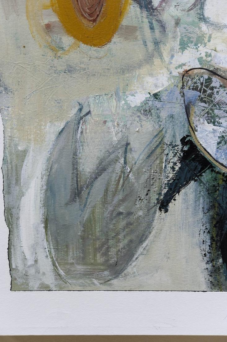 "Shingo Honda Oil on Canvas ""Case #27"". - 4"
