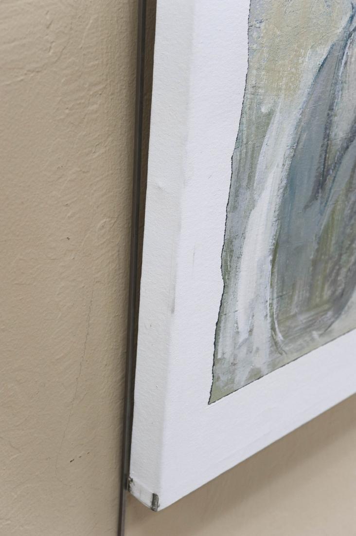 "Shingo Honda Oil on Canvas ""Case #27"". - 5"