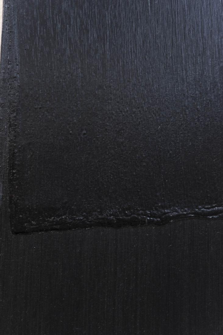 "Bruce Richards Acrylic on Canvas ""Painted Black"". - 6"