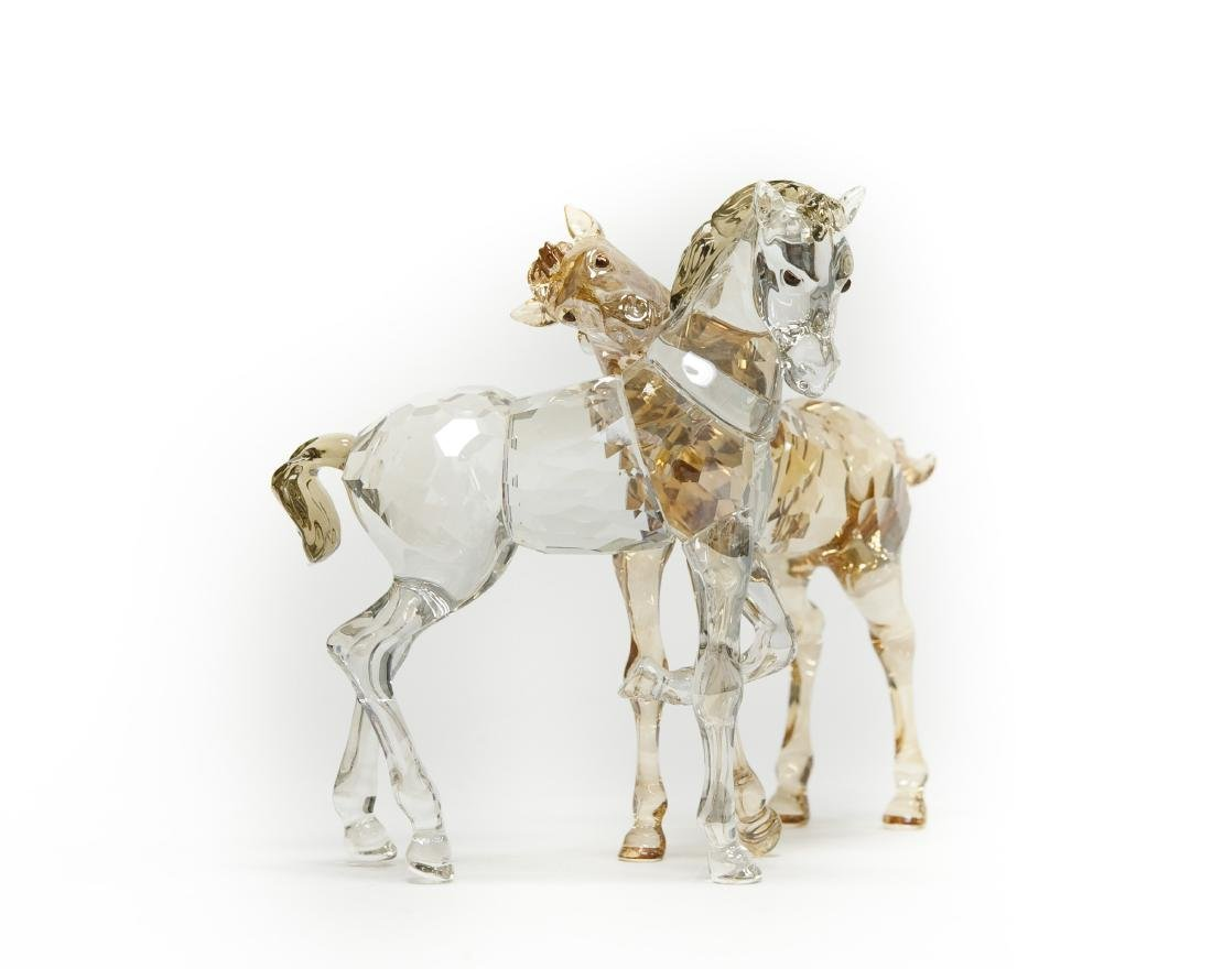 Swarovski Crystal Group, Foals Playing.