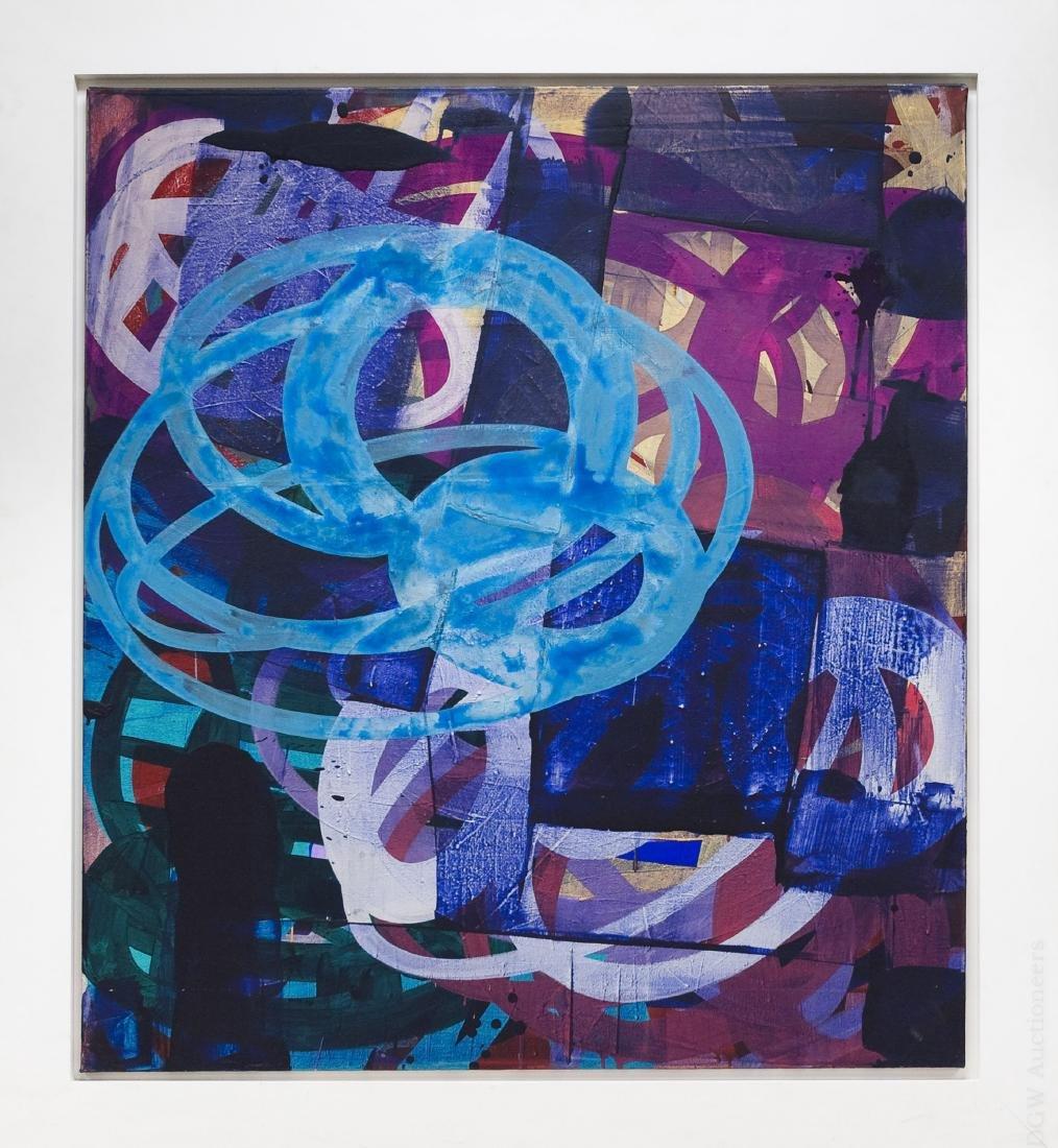 Pier Consagra Mixed Media on Canvas.