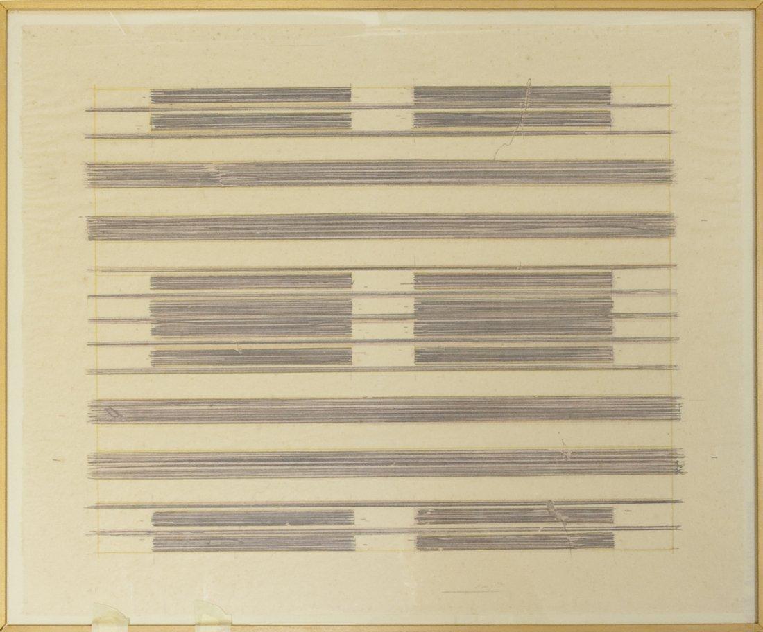 Ed (Edward) Moses Abstract Lithograph.