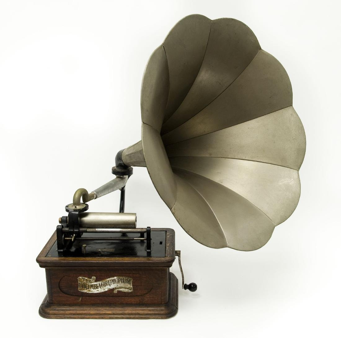 Columbia Phonograph Co. Model BQ Gramophone.